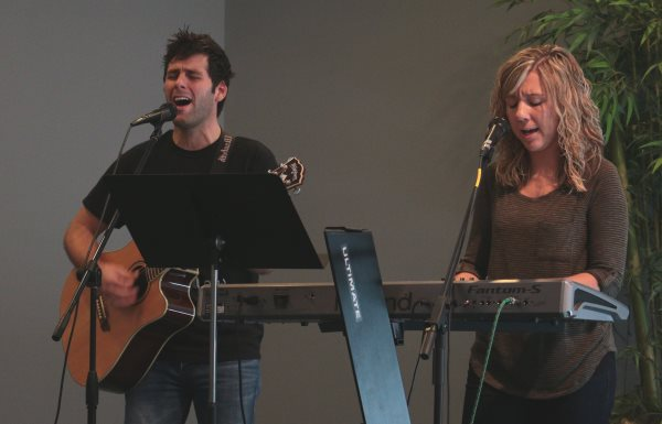 Worship leaders at Abundant Life Church, Warrenton MO